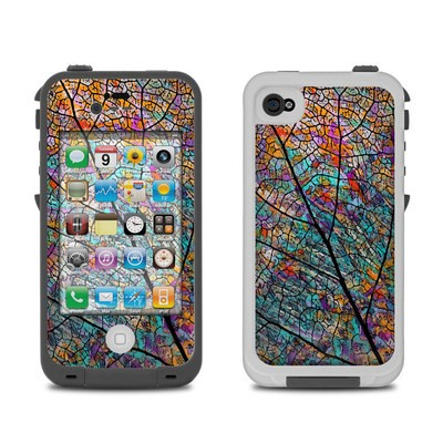 Lifeproof iPhone 4 Case Skin - Stained Aspen