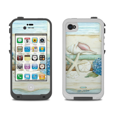 Lifeproof iPhone 4 Case Skin - Stories of the Sea