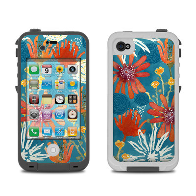 Lifeproof iPhone 4 Case Skin - Sunbaked Blooms