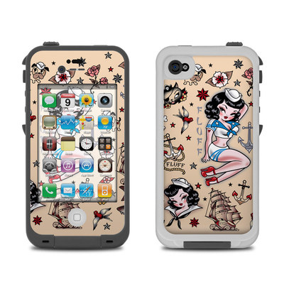 Lifeproof iPhone 4 Case Skin - Suzy Sailor