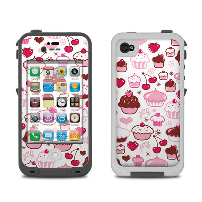 Lifeproof iPhone 4 Case Skin - Sweet Shoppe