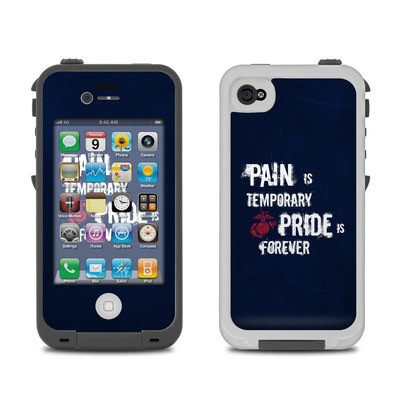 Lifeproof iPhone 4 Case Skin - Pain is Temporary