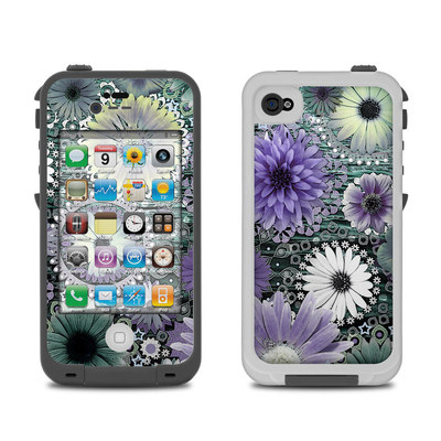 Lifeproof iPhone 4 Case Skin - Tidal Bloom