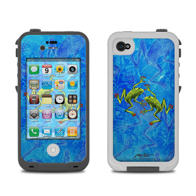 Lifeproof iPhone 4 Case Skin - Tiger Frogs