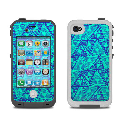 Lifeproof iPhone 4 Case Skin - Tribal Beat
