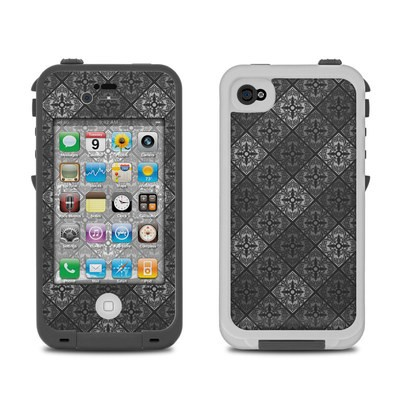 Lifeproof iPhone 4 Case Skin - Tungsten