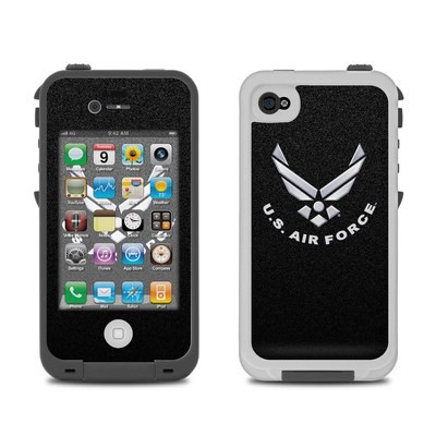 Lifeproof iPhone 4 Case Skin - USAF Black