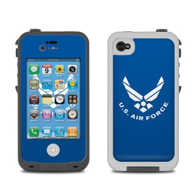 Lifeproof iPhone 4 Case Skin - USAF Blue