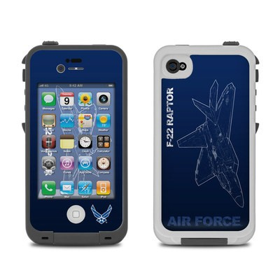 Lifeproof iPhone 4 Case Skin - F-22 Raptor
