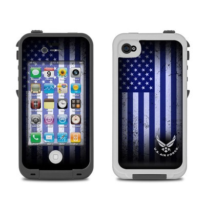 Lifeproof iPhone 4 Case Skin - USAF Flag