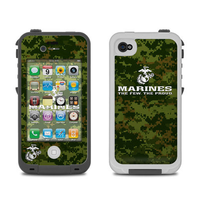 Lifeproof iPhone 4 Case Skin - USMC Camo