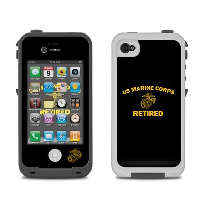 Lifeproof iPhone 4 Case Skin - USMC Retired