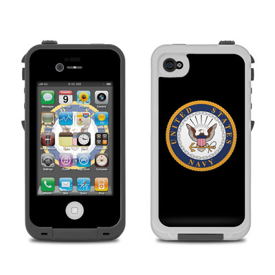 Lifeproof iPhone 4 Case Skin - USN Emblem