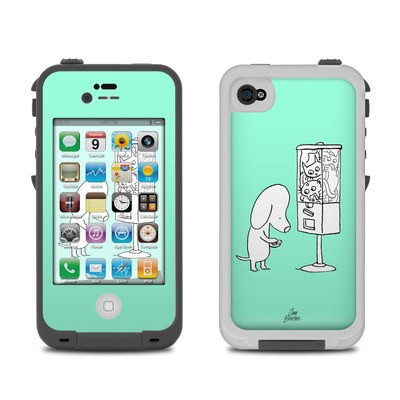 Lifeproof iPhone 4 Case Skin - Vending