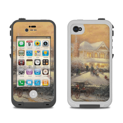 Lifeproof iPhone 4 Case Skin - Victorian Christmas