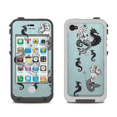 Lifeproof iPhone 4 Case Skin - Vintage Mermaid