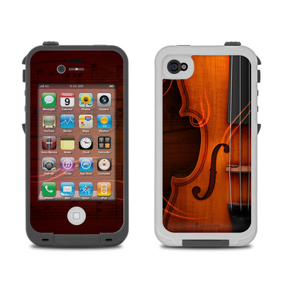 Lifeproof iPhone 4 Case Skin - Violin