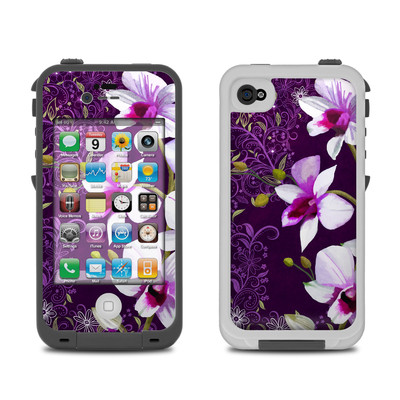 Lifeproof iPhone 4 Case Skin - Violet Worlds