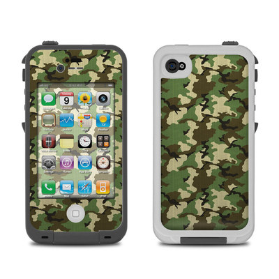 Lifeproof iPhone 4 Case Skin - Woodland Camo