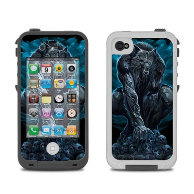Lifeproof iPhone 4 Case Skin - Werewolf