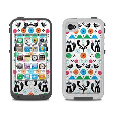 Lifeproof iPhone 4 Case Skin - Winter Forest