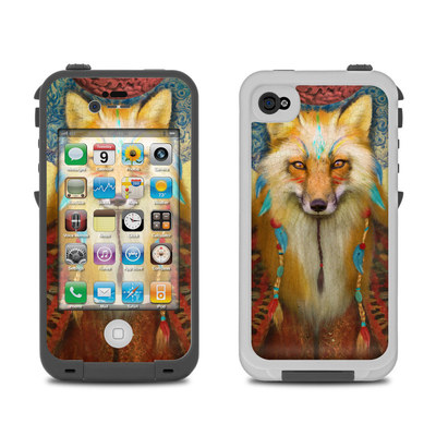 Lifeproof iPhone 4 Case Skin - Wise Fox