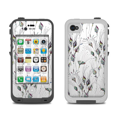 Lifeproof iPhone 4 Case Skin - Wildflowers
