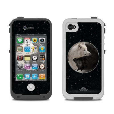 Lifeproof iPhone 4 Case Skin - Wolf Zen