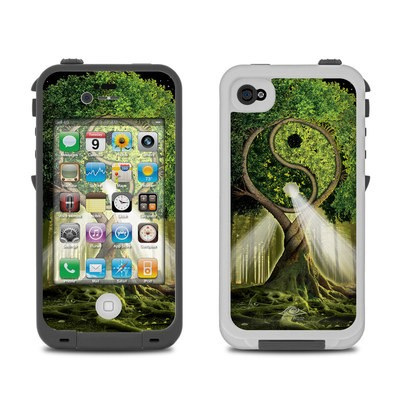 Lifeproof iPhone 4 Case Skin - Yin Yang Tree
