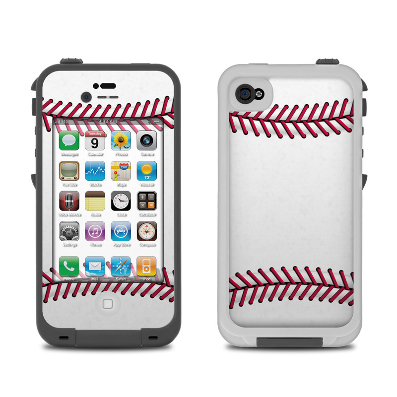lifeproof iphone 4 case lifeproof iphone 4 skin baseball by sports decalgirl 15626