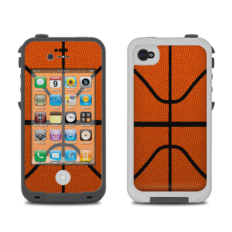 new concept b69c3 08aa0 Lifeproof iPhone 4 Case Skin - Basketball