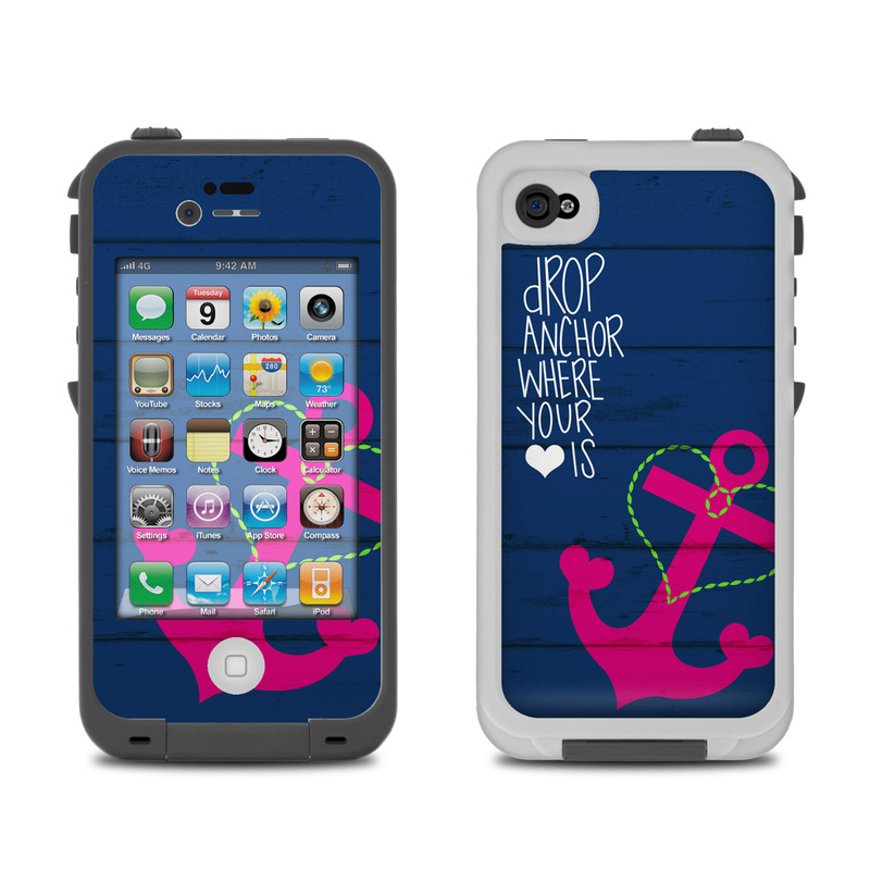 iphone 4 covers lifeproof iphone 4 skin drop anchor by 10850