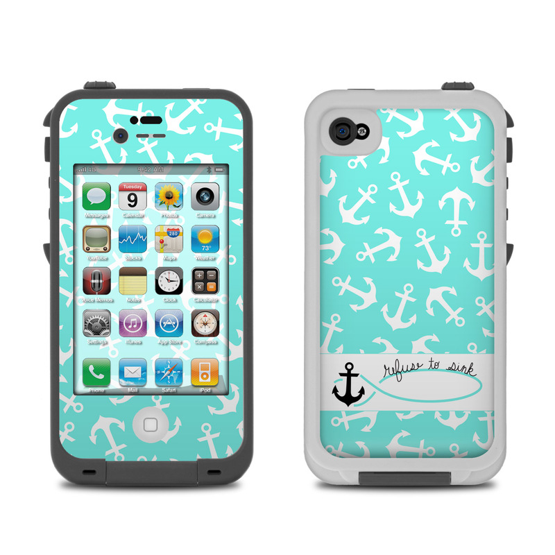 iphone 4s lifeproof case lifeproof iphone 4 skin refuse to sink by 2803