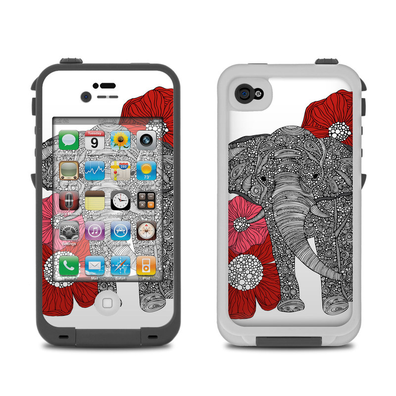 lifeproof iphone 4 case lifeproof iphone 4 skin the elephant by valentina 4119
