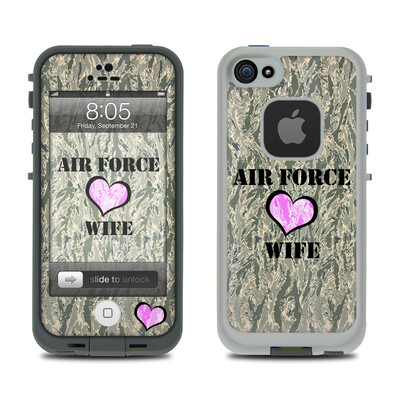 Lifeproof iPhone 5 Case Skin - Air Force Wife