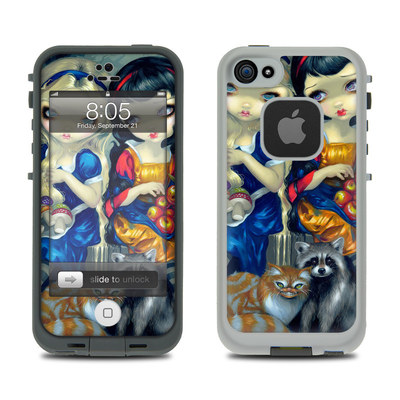 Lifeproof iPhone 5 Case Skin - Alice & Snow White
