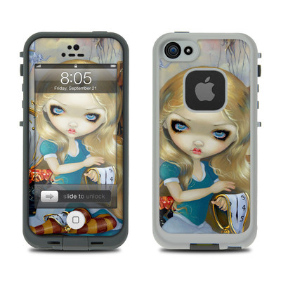 Lifeproof iPhone 5 Case Skin - Alice in a Dali Dream