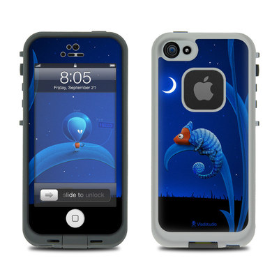 Lifeproof iPhone 5 Case Skin - Alien and Chameleon