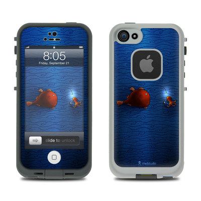 Lifeproof iPhone 5 Case Skin - Angler Fish