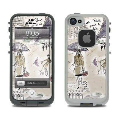 Lifeproof iPhone 5 Case Skin - Ah Paris