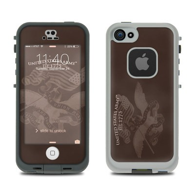 Lifeproof iPhone 5 Case Skin - Army Preserved