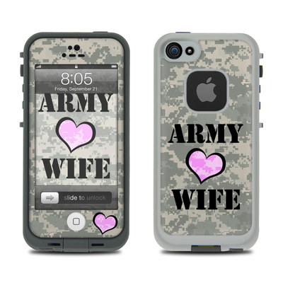 Lifeproof iPhone 5 Case Skin - Army Wife