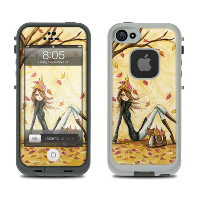 Lifeproof iPhone 5 Case Skin - Autumn Leaves