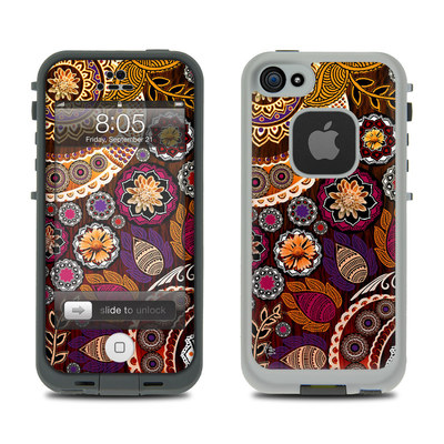 Lifeproof iPhone 5 Case Skin - Autumn Mehndi