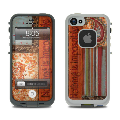Lifeproof iPhone 5 Case Skin - Be Inspired