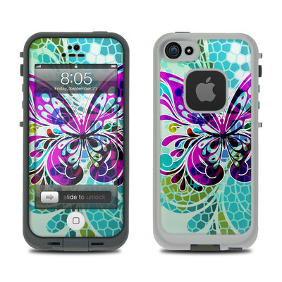 Lifeproof iPhone 5 Case Skin - Butterfly Glass