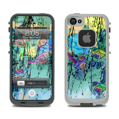 Lifeproof iPhone 5 Case Skin - Blue Evening