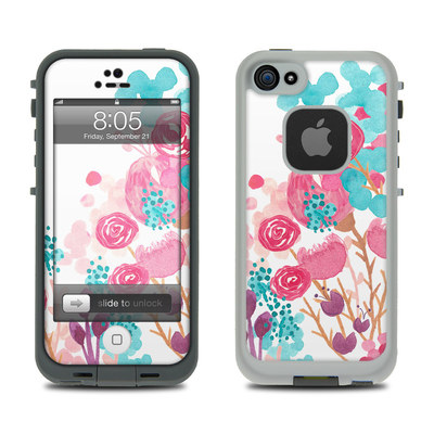 Lifeproof iPhone 5 Case Skin - Blush Blossoms