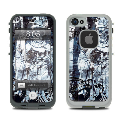 Lifeproof iPhone 5 Case Skin - Black Mass