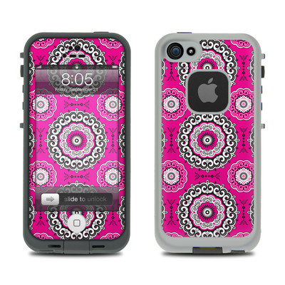 Lifeproof iPhone 5 Case Skin - Boho Girl Medallions